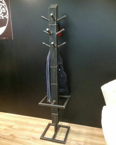 Напольная вешалка для одежды в стиле Лофт «LVA-180»
