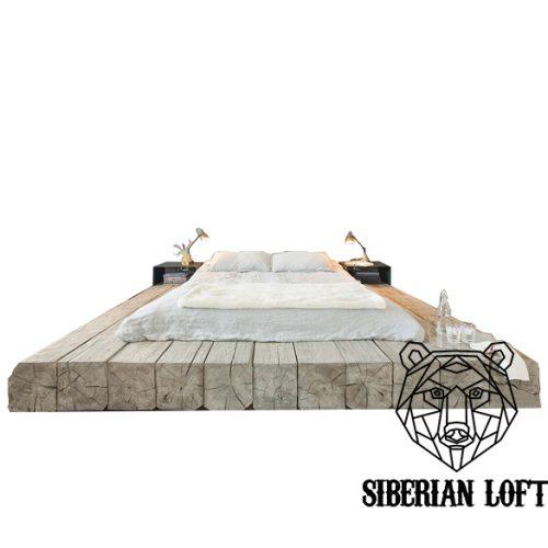 Кровать в стиле Лофт из сосны LDB 54