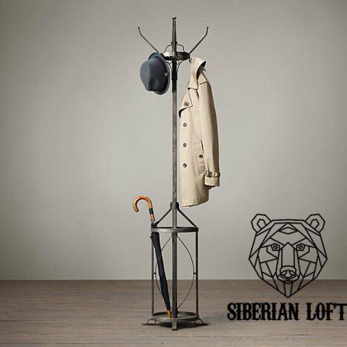 Напольная вешалка для одежды в стиле Лофт LVA-26_01