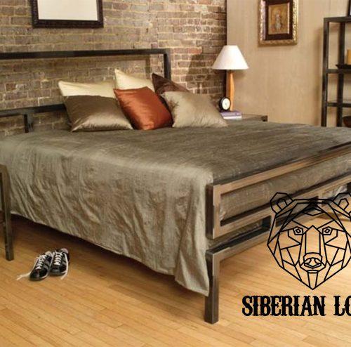 Кровать в стиле Лофт LDB 50