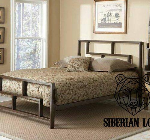 Кровать в стиле Лофт LDB 51