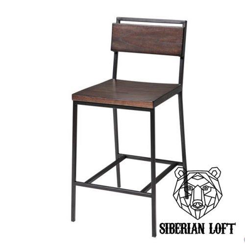 Барный стул в стиле лофт Бартон