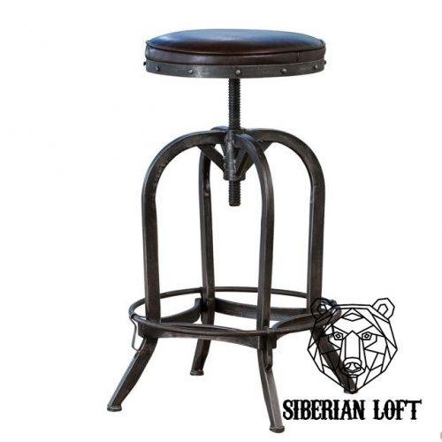 Барный стул в стиле лофт Брикстон