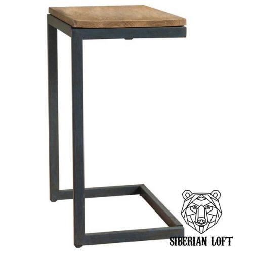 Приставной столик в стиле Лофт «Рамон»