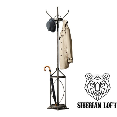 Напольная вешалка для одежды в стиле Лофт LVA-26