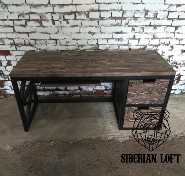 Рабочий стол в стиле Лофт LRT 60