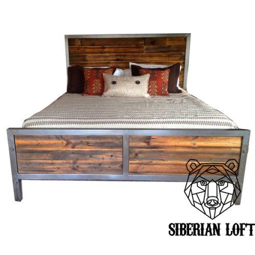 Кровать в стиле Лофт LDB 37