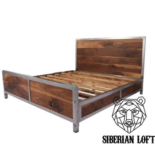 Кровать в стиле Лофт LDB 49
