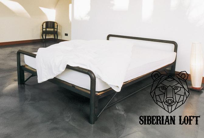 Кровать в стиле Лофт LDB 54