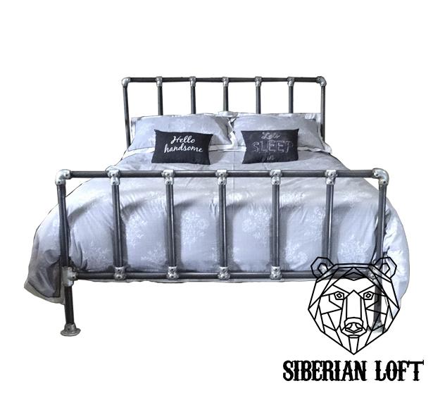 Кровать в стиле Лофт LDB 55