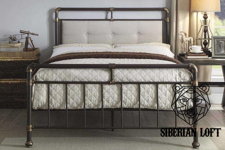 Кровать в стиле Лофт LDB 56