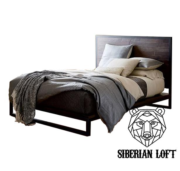 Кровать в стиле Лофт LDB 59