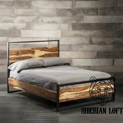Кровать в стиле Лофт LDB 60