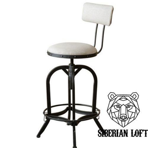 Барный стул в стиле лофт Август