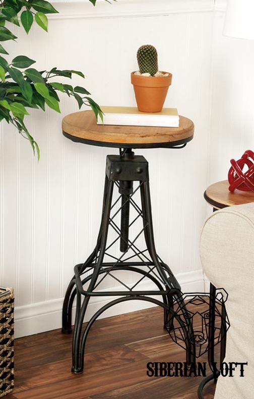 Барный стул в стиле Лофт «Парнас»