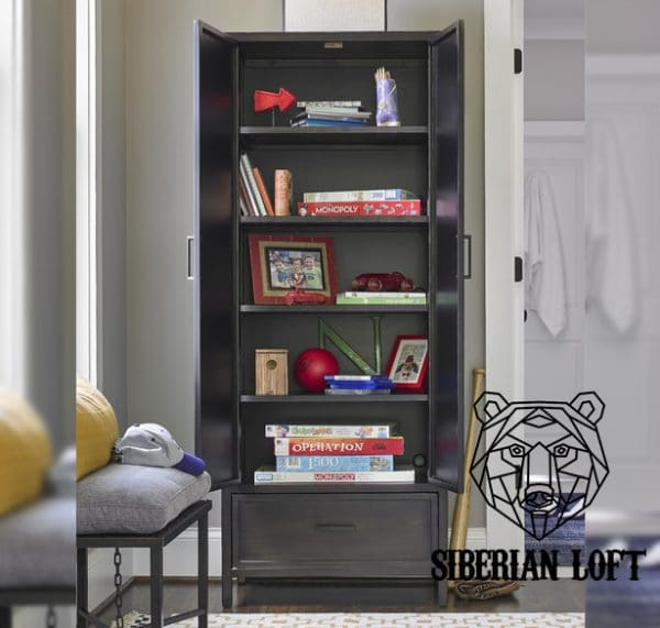 Шкаф в стиле Лофт «Грамерси»