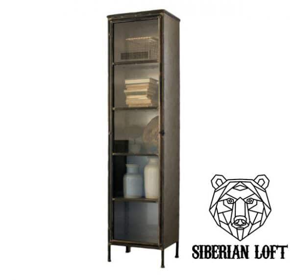 Шкаф в стиле лофт «Ачи»