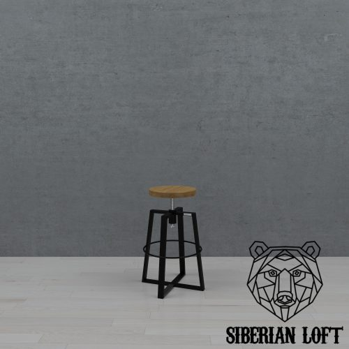 Барный стул в стиле лофт LBS 17 080411