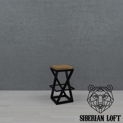 Барный стул в стиле лофт LBS 65 080911