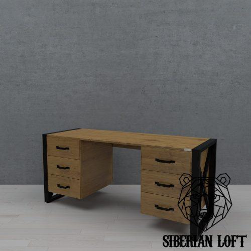 Рабочий стол в стиле лофт LRT 37 060911