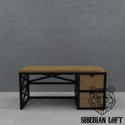 Рабочий стол в стиле лофт LRTx 60 060611