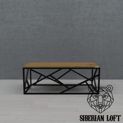 Журнальный стол в стиле лофт LMT 13 070511