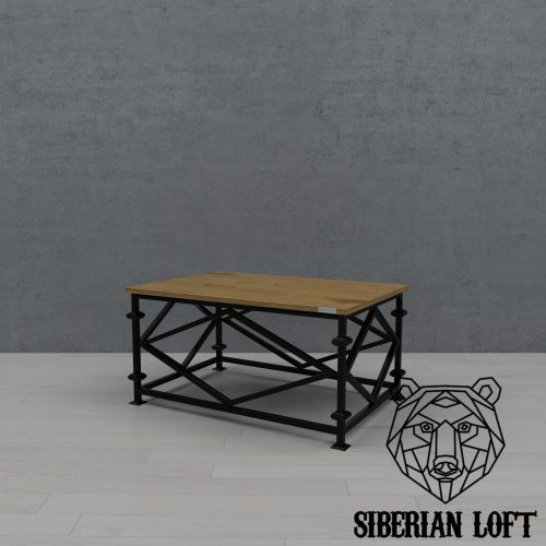 Журнальный стол в стиле лофт LMTc 071011